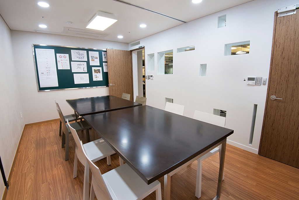 Board Room with screen