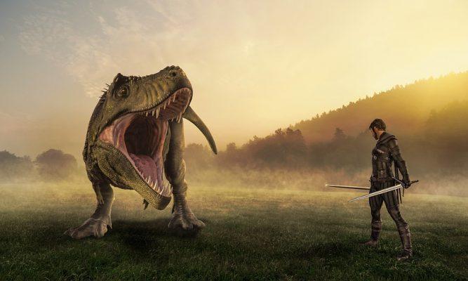 우리가 공룡들 사이에서 살아남은 비결