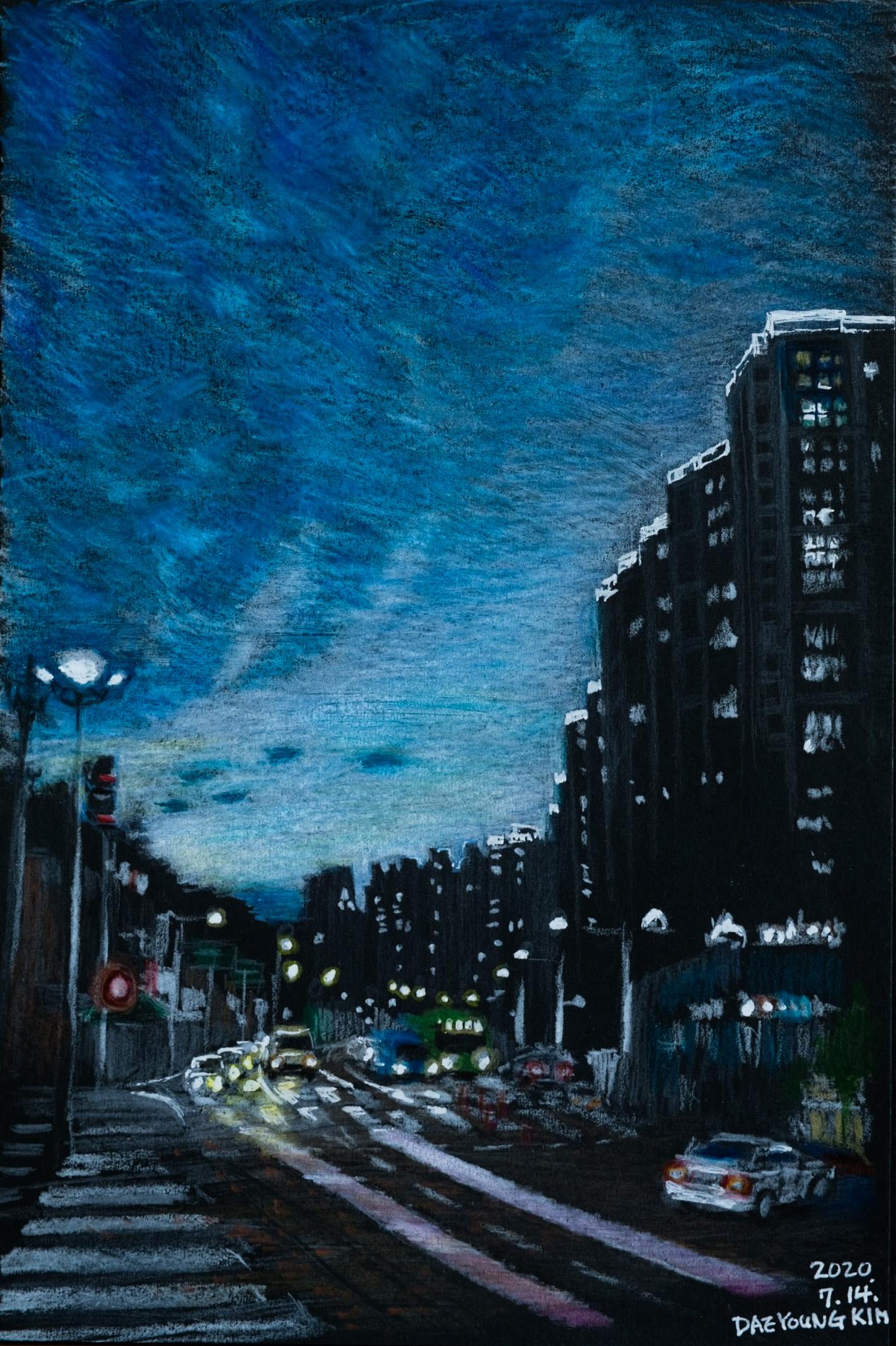 조명이 빛나는 밤 – 홍은동 01