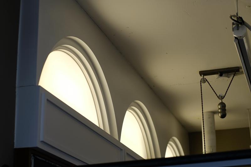 코워킹 벽부 매립형 제작조명 (9F)